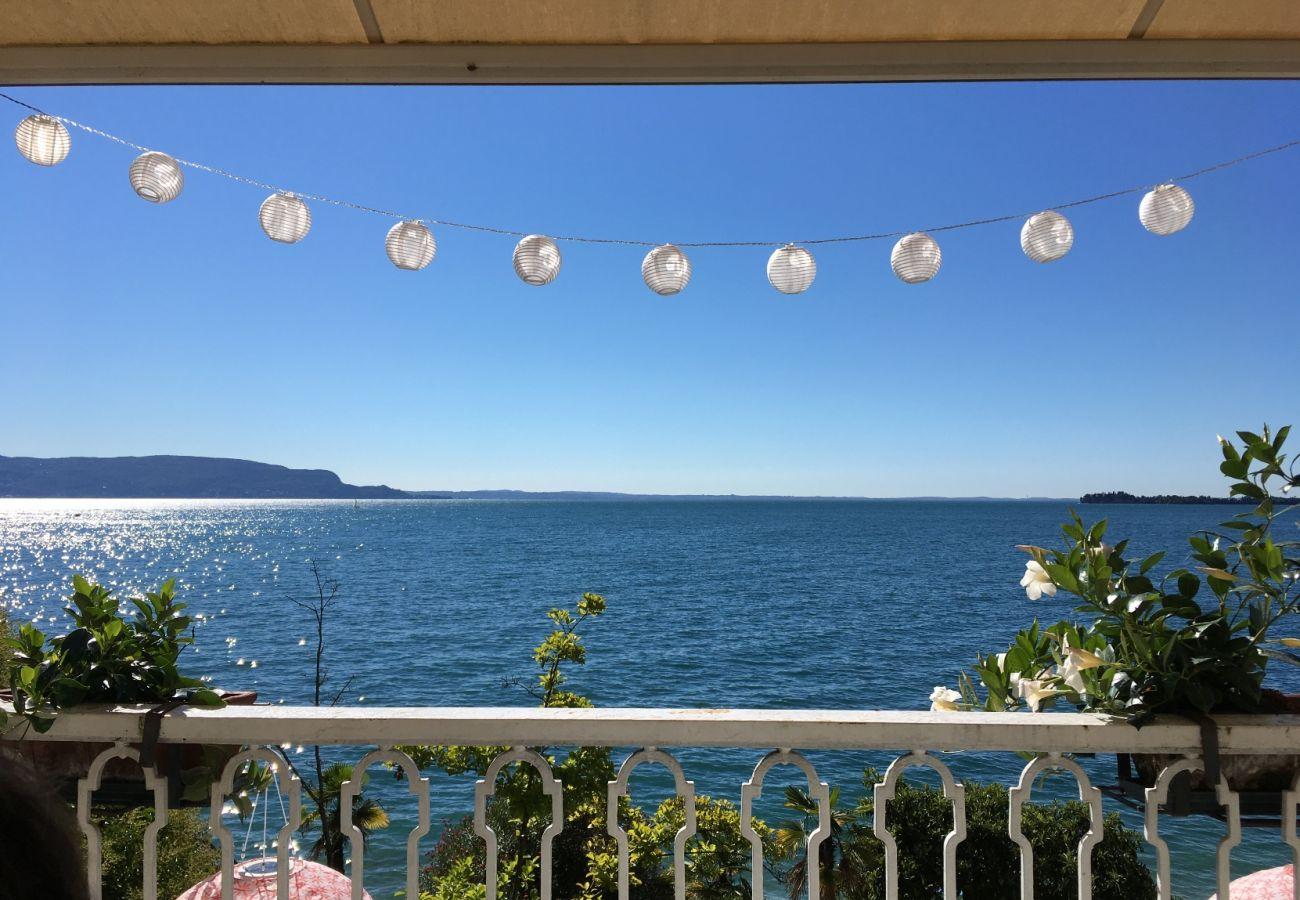Villa a Gardone Riviera - Villa Magnolia a Lago - con giardino fronte lago Gardone Riviera