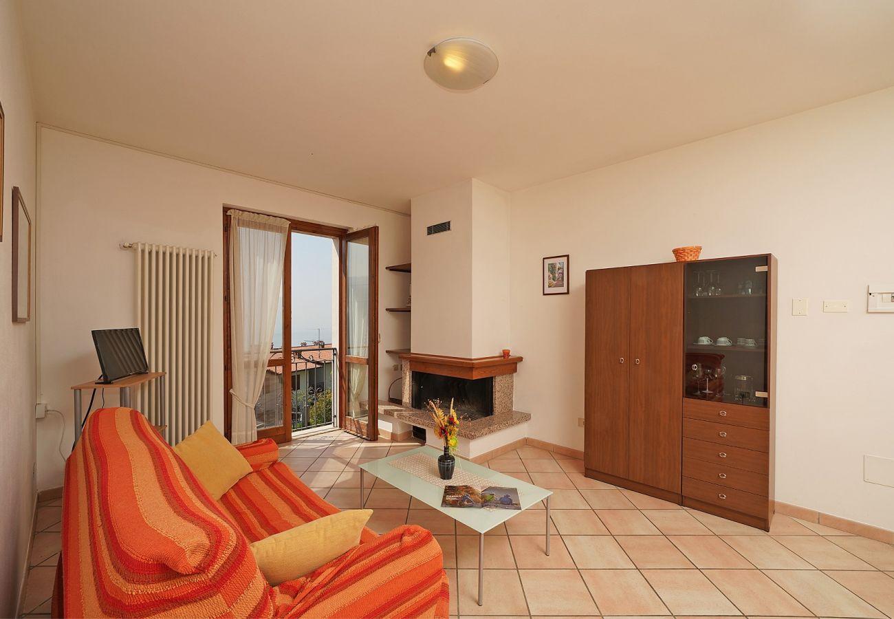 Appartamento a Tignale - Luna - appartamento vista lago con due camere da letto