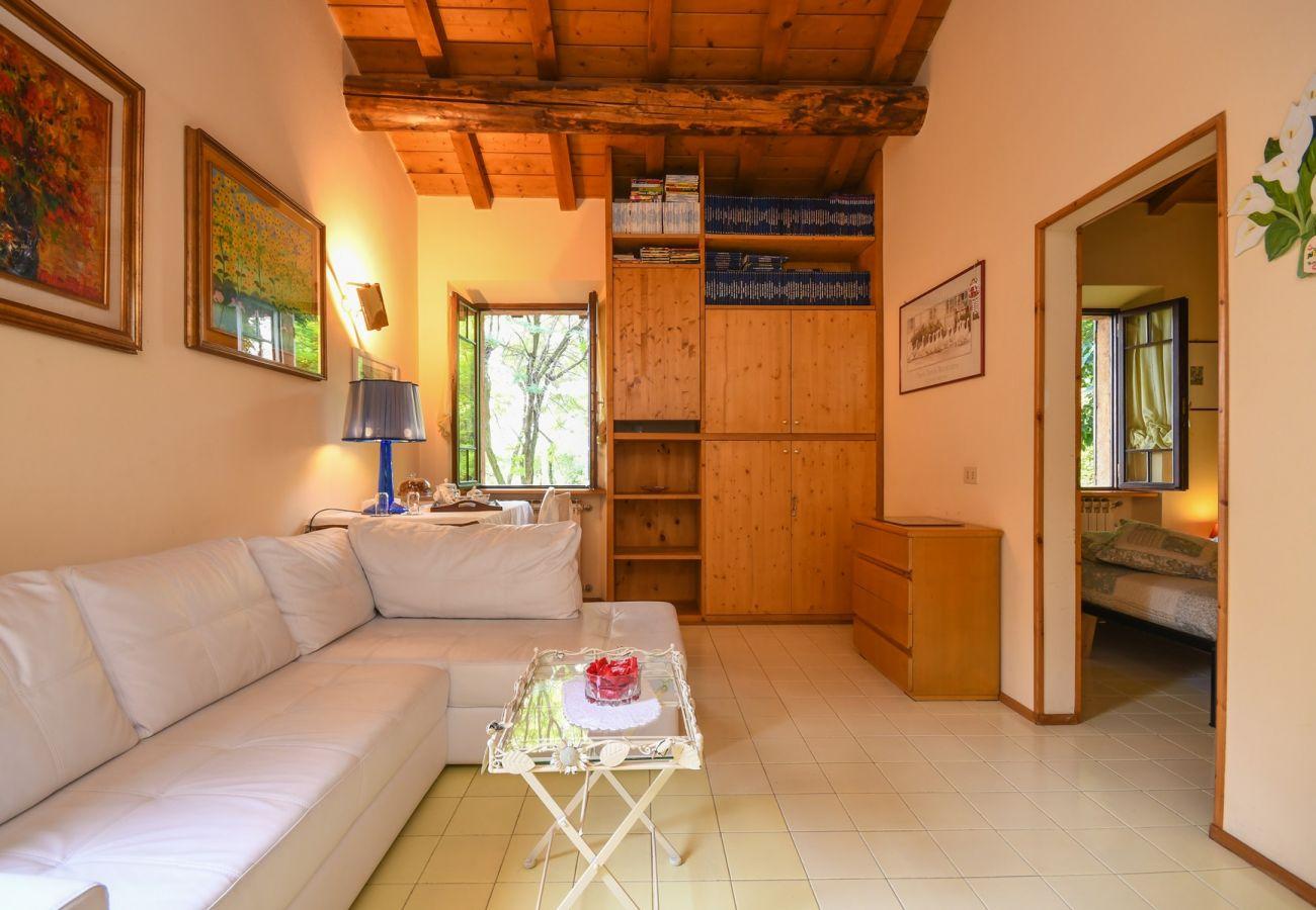 Villa a Polpenazze del Garda - Il Rio: pace e tranquillità immersi nel verde con piscina per solo 3 unità