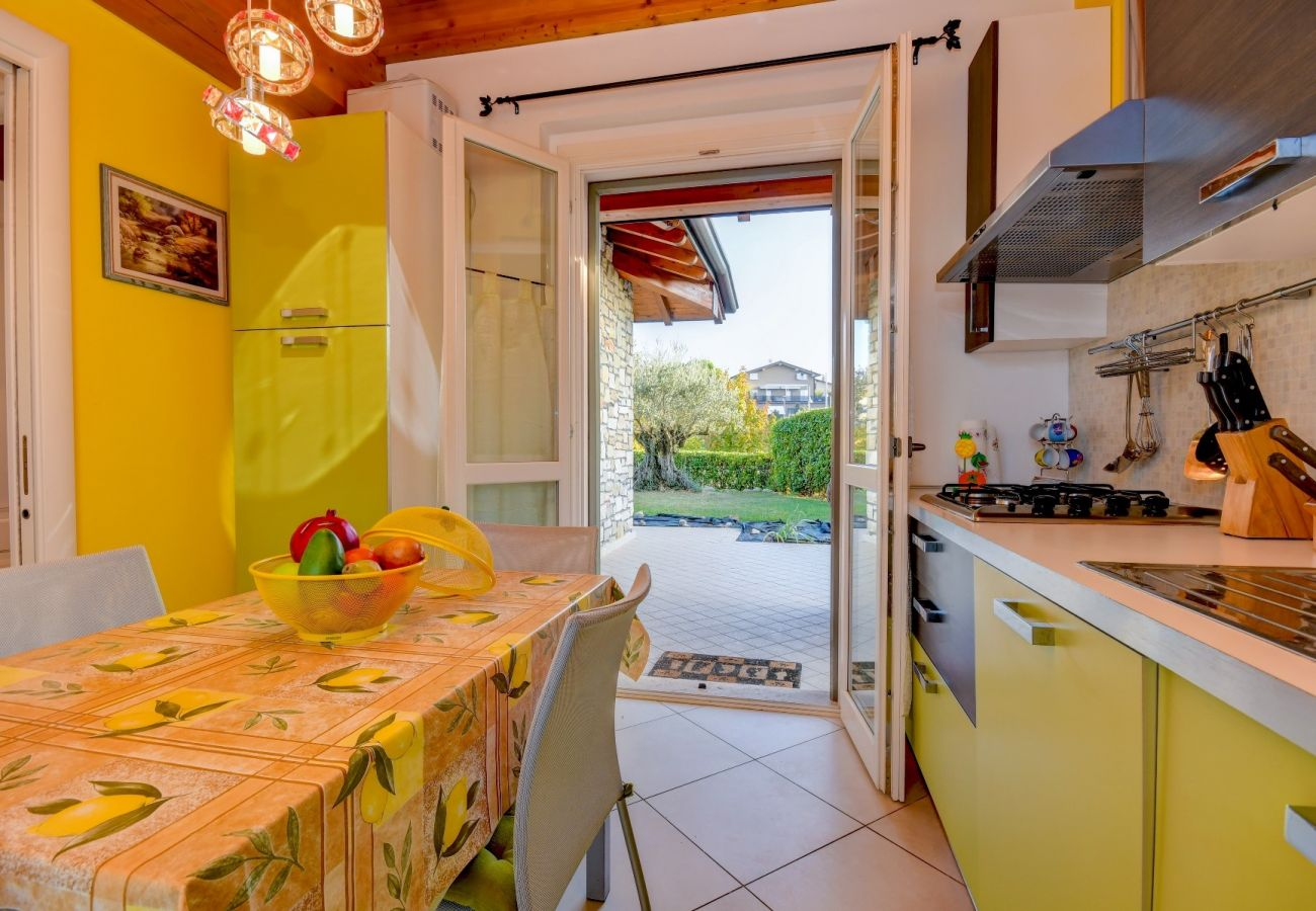 Villetta a Moniga del Garda - Orange: casa singola con giardino in centro a Moniga del garda