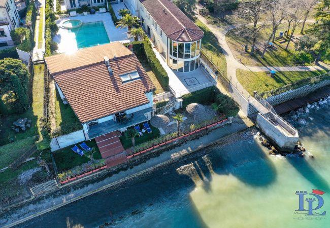 Villa a Desenzano del Garda - VILLA INDIPENDENTE FRONTE LAGO